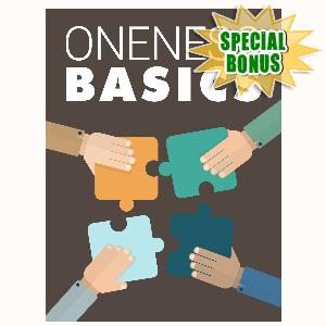 Special Bonuses - February 2016 - Oneness Basics