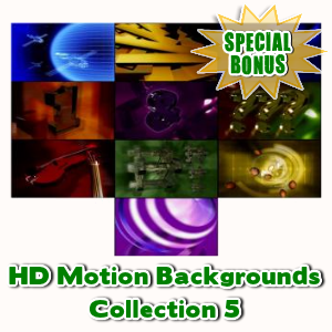 Special Bonuses - February 2016 - HD Motion Backgrounds Collection 5