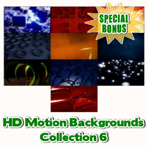 Special Bonuses - February 2016 - HD Motion Backgrounds Collection 6