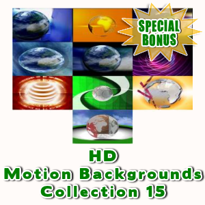 Special Bonuses - April 2016 - HD Motion Backgrounds Collection 15