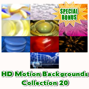 Special Bonuses - May 2016 - HD Motion Backgrounds Collection 20