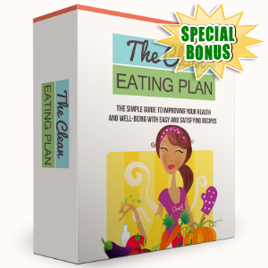 Special Bonuses - May 2016 - The Clean Eating Plan