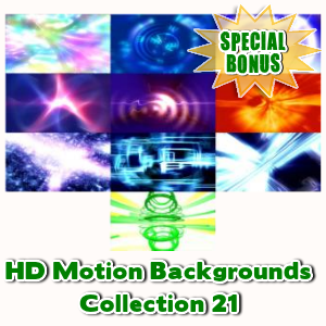 Special Bonuses - May 2016 - HD Motion Backgrounds Collection 21