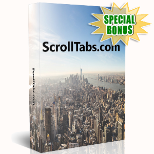 Special Bonuses - May 2016 - ScrollTabs WordPress Plugin