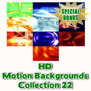 Special Bonuses - May 2016 - HD Motion Backgrounds Collection 22