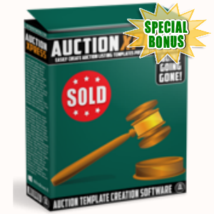 Special Bonuses - May 2016 - Auction Express Software