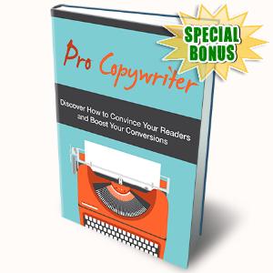 Special Bonuses - May 2016 - Pro Copywriter