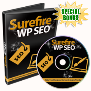 Special Bonuses - June 2016 - Surefire WP SEO Video Series