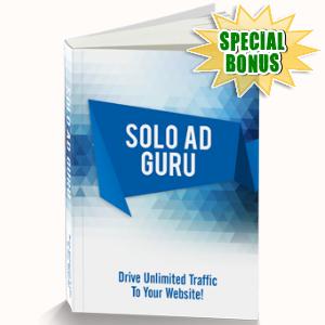 Special Bonuses - June 2016 - Solo Ad Guru