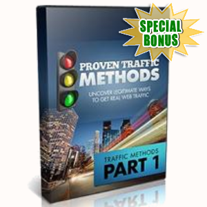 Special Bonuses - June 2016 - Proven Traffic Methods Training Videos