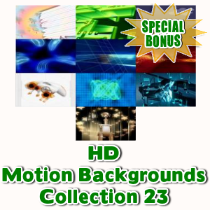 Special Bonuses - June 2016 - HD Motion Backgrounds Collection 23
