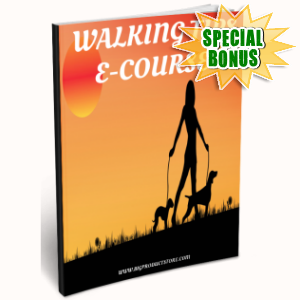 Special Bonuses - June 2016 - Walking Tips Ecourse