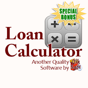 Special Bonuses - June 2016 - Loan Calculator Software