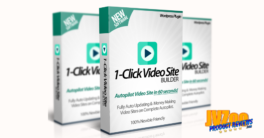 1-Click Video Site Builder Plugin Review and Bonuses