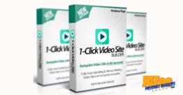 1-Click Video Site Builder Plugin Review and Bonuses