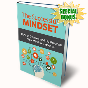 Special Bonuses - July 2016 - The Successful Mindset