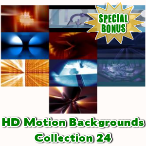 Special Bonuses - July 2016 - HD Motion Backgrounds Collection 24