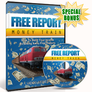 Special Bonuses - July 2016 - Free Report Money Train Video Upgrade Pack