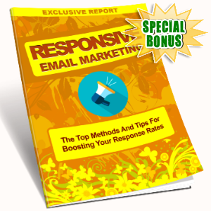 Special Bonuses - July 2016 - Responsive Email Marketing