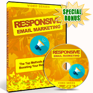 Special Bonuses - July 2016 - Responsive Email Marketing Video Upgrade Pack