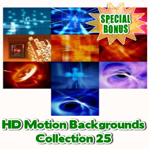 Special Bonuses - July 2016 - HD Motion Backgrounds Collection 25