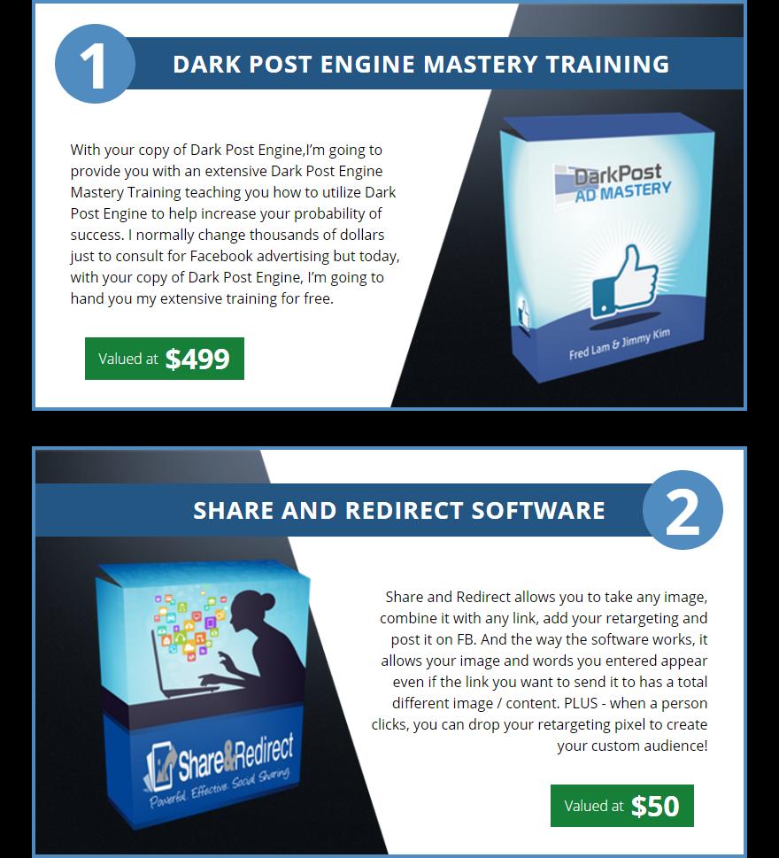 Dark Post Engine Bonuses