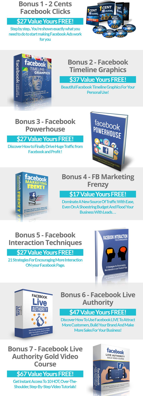 FB Live Engagenator Bonuses
