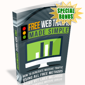 Special Bonuses - September 2016 - Free Web Traffic Made Simple