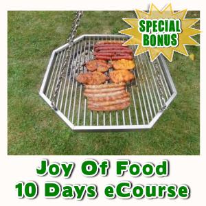 Special Bonuses - September 2016 - Joy Of Food 10 Days eCourse