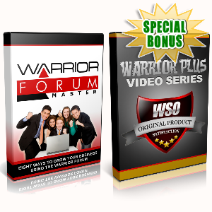 Special Bonuses - September 2016 - Warrior Forum Combo Videos Pack
