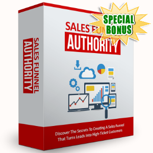 Special Bonuses - September 2016 - Sales Funnel Authority