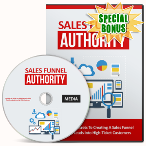 Special Bonuses - September 2016 - Sales Funnel Authority Video Upgrade Pack
