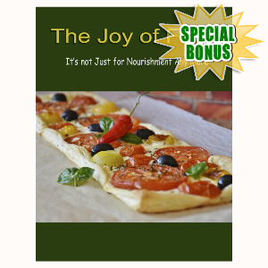 Special Bonuses - September 2016 - The Joy Of Food