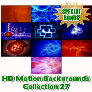 Special Bonuses - September 2016 - HD Motion Backgrounds Collection 27