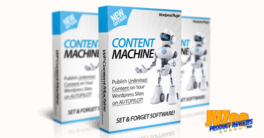 WP Content Machine Review and Bonuses
