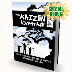 Special Bonuses - October 2016 - The Kaizen Advantage