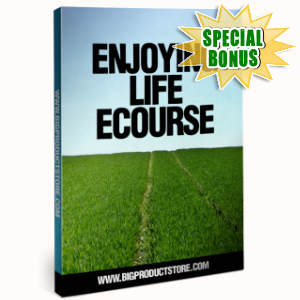 Special Bonuses - October 2016 - Enjoying Life Ecourse