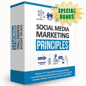 Special Bonuses - October 2016 - Social Media Marketing Principles