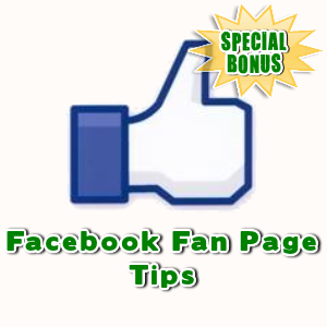 Special Bonuses - October 2016 - Facebook Fan Page Tips