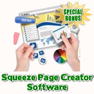Special Bonuses - October 2016 - Squeeze Page Creator Software