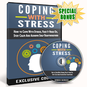 Special Bonuses - October 2016 - Coping With Stress Video Upgrade