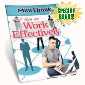 Special Bonuses - October 2016 - 202 Tips On Work Effectively