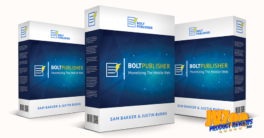 Bolt Publisher Review and Bonuses