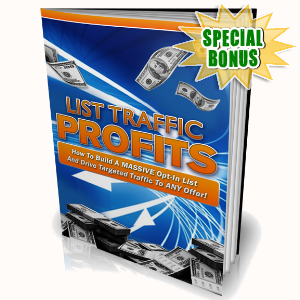Special Bonuses - November 2016 - List Traffic Profits Video Series