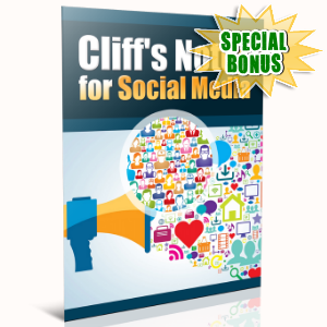 Special Bonuses - November 2016 - Cliff's Notes For Social Media