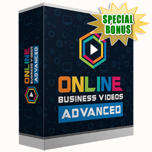 Special Bonuses - November 2016 - Online Business Videos Advanced Pack