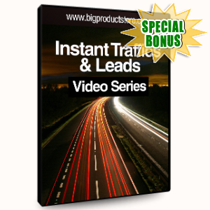 Special Bonuses - November 2016 - Instant Traffic And Leads Video Series