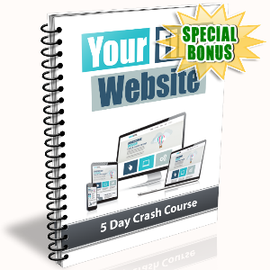 Special Bonuses - November 2016 - Your First Website