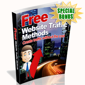 Special Bonuses - November 2016 - Free Website Traffic Methods