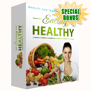 Special Bonuses - November 2016 - Eating Healthy